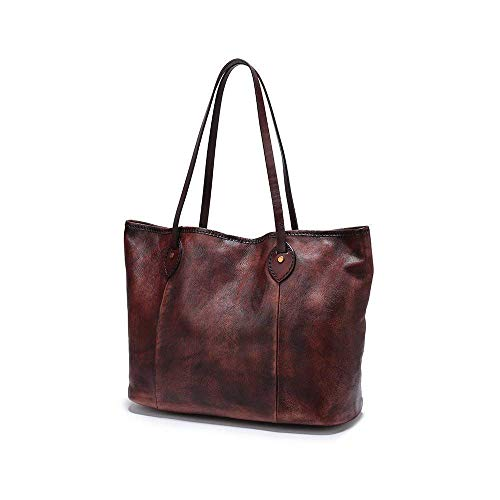 Leather Tote Bags, Rustic Large Tote Bag, Brown Travel Bag, Large Leather Tote Bag, Women Handbag, Handmade Leather Bag