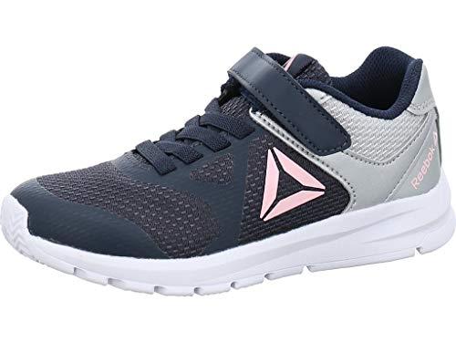 Reebok Jungen Unisex-Kinder Rush Runner Alt Traillaufschuhe, Mehrfarbig (Navy/Silver/Pink 000), 32 EU