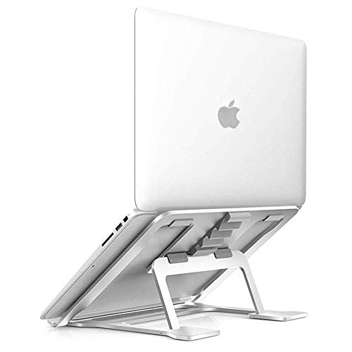 SOUNDANCE Aluminum Laptop Stand Adjustable, Compatible with Apple Mac MacBook 10 to 14 Inch...
