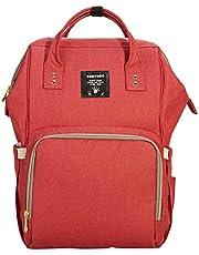 Sunveno NB22179 Diaper Bag, Red