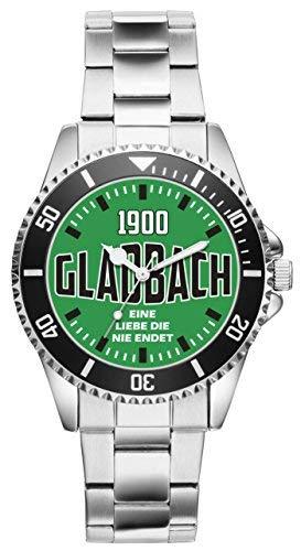 KIESENBERG - Mönchengladbach Gladbach Geschenk Artikel Idee Fan Uhr 6095