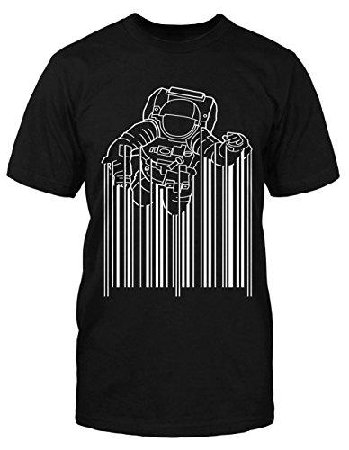 Barcode Astronaut T-Shirt Alien ...