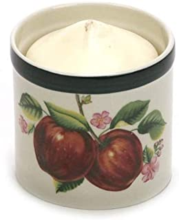 Apples, Casuals by China Pearl, Stoneware Votive