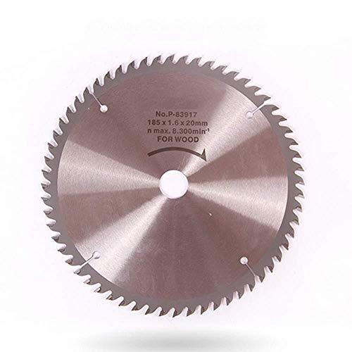 LKK-KK. sega circolare lama in acciaio legato del legno lama, cordless sega circolare lama 185x 20mm, 60 denti, taglio legno precisione sega 7 pollici