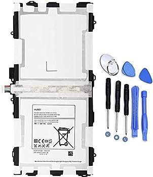 EB-BT800FBU EB-BT800FBC Tablet Battery Replacement for Samsung Galaxy Tab S 10.5 SM-T800 SM-T801 SM-T805 SM-T805C SM-T805W T805Y T805M SM-T807 SM-T807A SM-T807P SM-T807V T807T 3.8V 7900mAh