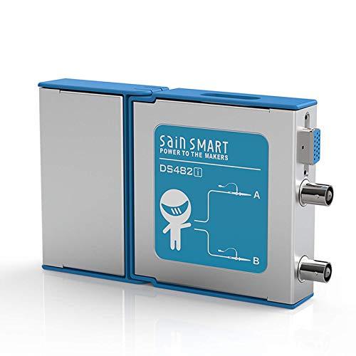 SainSmart DS482i 2-Kanal Virtual PC-Oszilloskop, 20 MHz analoge Bandbreite, 50 MSps Abtastrate