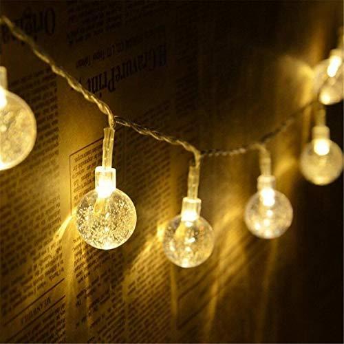 Babifis LED Light String warmwit meisjes hart decoratie lamp bal kleine gloeilamp hanglamp lamp gordijn licht