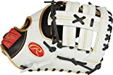 Rawlings Encore Youth First Base Mitt, Single Post Web, 12 inch, Left Hand Throw