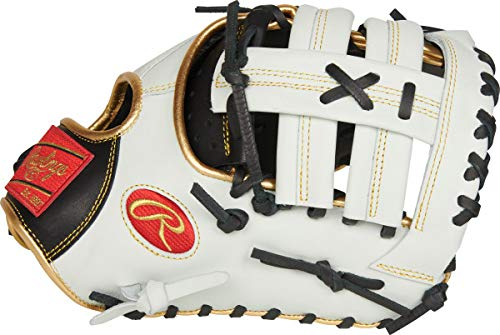 Rawlings Encore Youth First Base Mitt, Single Post Web, 12 inch, Right Hand Throw