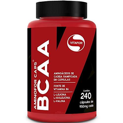 Aminofor BCAA - 240 Cápsulas - Vitafor, Vitafor