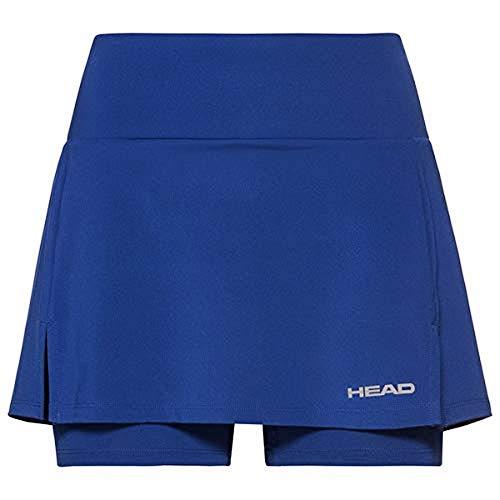 Head Club Basic Skort W - Pantalón Corto para Mujer, Mujer, 814399-RO M, Azul Cobalto, Medium