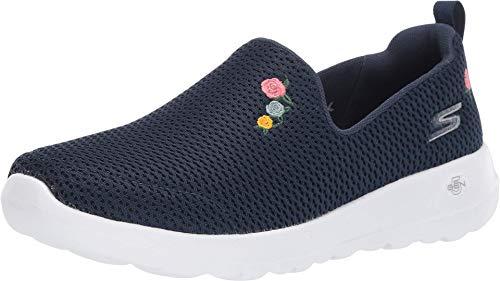 Skechers GO Walk Joy-Loved Sneaker, Navy/White, 10 M US