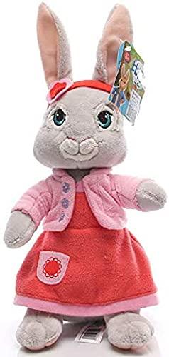 Peter Rabbit Lily juguete de felpa Anime dibujos animados mueco de peluche suave decoracin de habitacin...