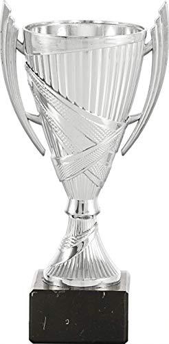 Art-Trophies AT81101 Trofeo Deportivo, Plateado, 19 cm ✅