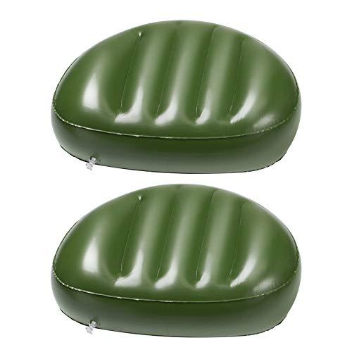 BESPORTBLE 2 Stück Angeln Sitzpolster Hochwertige Grüne Farbe PVC-Material Sitzmatte Sitzbezug Angelkissen für Erwachsene Frauen Männer