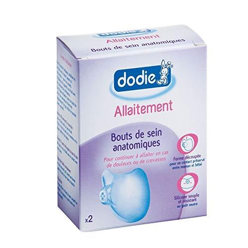 Dodie - K807413 - Coquilles d'allaitement Boite de 2 Coquilles ProtegeMamelons et 2 Coquilles Recueil Lait