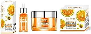 DR Davey Vitamin C Brightening Anti-Aging Face Serum - 30ml and Cream- 50g