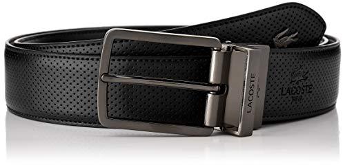 Lacoste RC4002 Cinturón, Negro (Noir), 90 para Hombre
