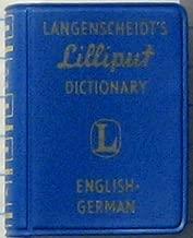 Langenscheidt's Lilliput Dictionary English-German