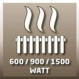 Einhell Ölradiator MR 715/2 (bis 1.500 Watt, 3 Heizstufen, stufenloser Thermostatregler, fahrbar, Kipp- und Überhitzungsschutz, Betriebsanzeige) - 10