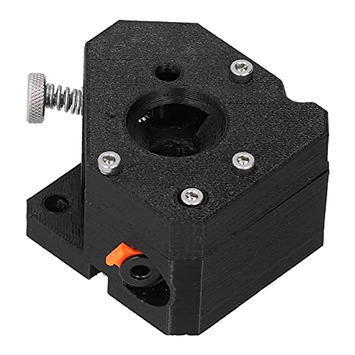 Dual Pulley Extruder Mini V2 PLA Black Dual‑Drive Gears Extruder 3D Printer Accessories with Good Compatibility for Prusa