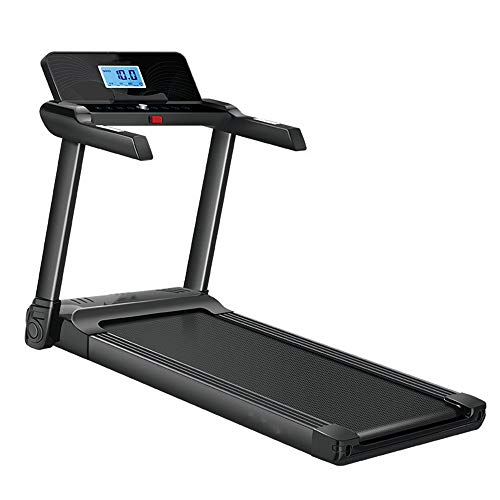 Rueda de andar Cinta de correr plegable inteligente digital - plegable eléctrica Máquinas de ejercicios, seguridad ampliada Barandilla, hasta 120 kg, de 7 capas de seguridad antideslizante pista portá