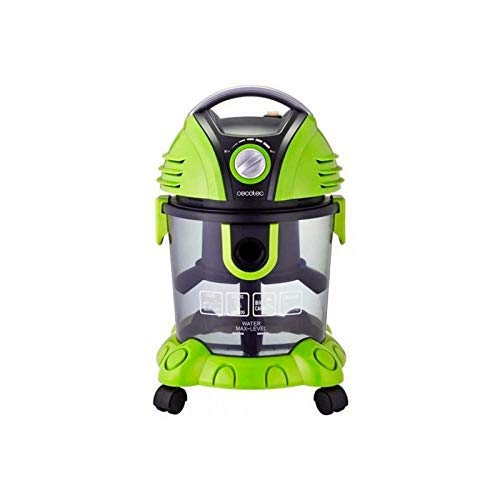 Cecotec Aspirador de sólidos y líquidos Conga Wet&Dry (Verde)
