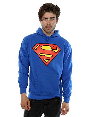 Official Superman Shield Logo Men's Hoodie - S