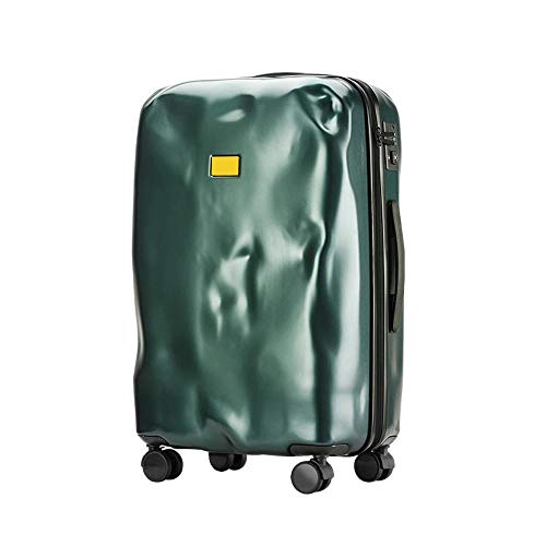 XIANGSHAN Trolley Case - Personalized PC Trolley Case Large Capacity Dilapided Travel Trolley Case Waterproof Durable Luggage 34 Inch 70 * 26 * 42 Cm