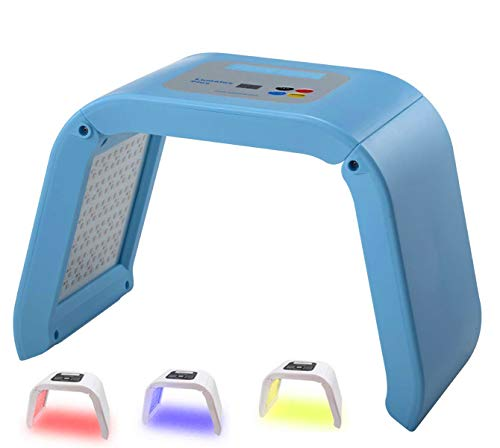 Lowest Prices! Airblasters 3 Color LED Face Photon Red Light Therapy for Healthy Skin Rejuvenation C...