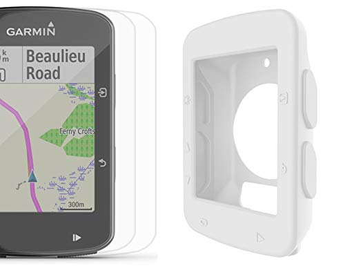 Best Review Of PlayBetter Protective Silicone Case (White) for Garmin Edge 520 with & 2-Pack Screen ...