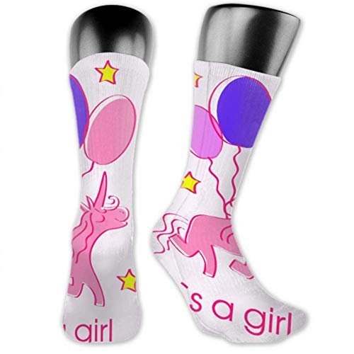 Leila Marcus Herren und Damen Socken sind bequem, leicht und schweißig, lustig, Geburtstagskarte für Mädchen, mittlere und lange Socken