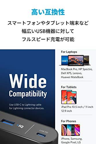 AnkerPowerCore+26800PD45W(26800mAh2ポート超大容量モバイルバッテリー)【PSE認証済/PowerDelivery対応/USB-C入出力ポート/USB-C急速充電器付属】iPhone/iPad/Android他各種対応