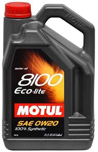 Motul 104983 motorolie 8100 Eco-Lite 0W-20, 5 L