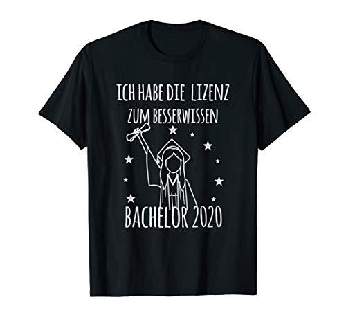 Damen Lizenz zum Besserwissen | Bachelor Abschluss 2020 T-Shirt