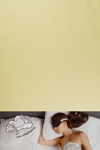 Primera Sábana Bajera Teddy de flojel, forro polar, crudo, 90 x 200 cm