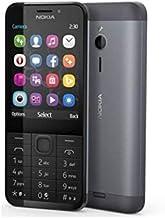 هاتف نوكيا 230 ثنائي شرائح الاتصال - بحجم 2.8 بوصة، 16 ميجا ذاكرة رام، جي اس ام Less than 512 MB A00027608