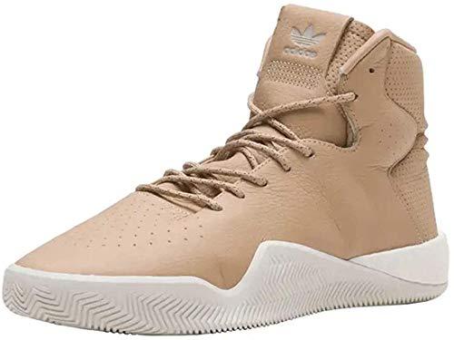 adidas Herren Tubular Instinct Boost Hi-Top Sneaker, Braun - Beige Weiß mehrfarbig - Größe: 38 EU
