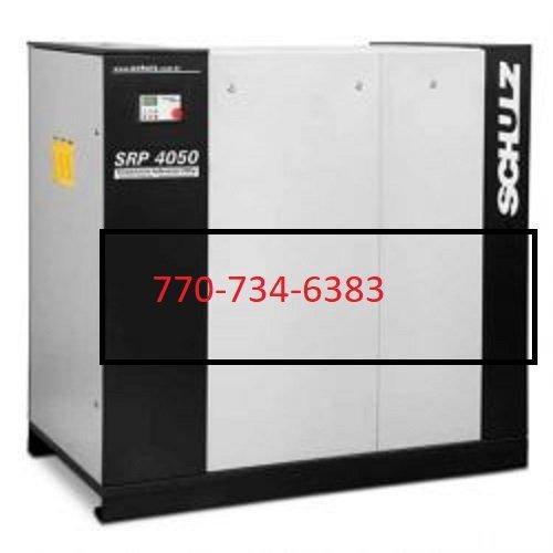 SCHULZ AIR COMPRESSOR SRP4050 50HP ROTARY SCREW 207 CFM- 970.3458-0