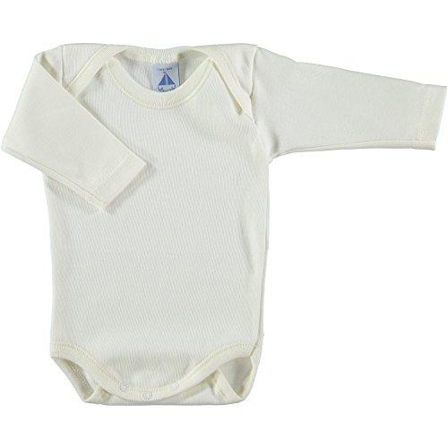 BABIDU Body C. Americano, Beige, 6 Meses Bebe-Unisex
