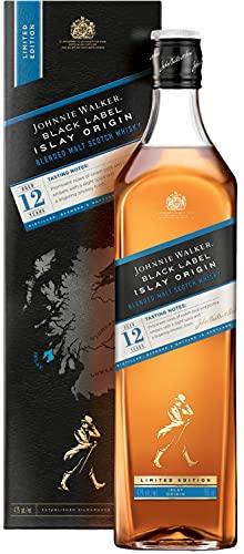 Johnnie Walker Black Label 12 Years Old Islay Origin Limited Edition Blended Malt Scotch Whisky (1 x 0.7 l)