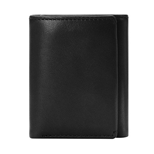 HOJ Co. Eastwood TRIFOLD Wallet | Nappa Full Grain Leather | Men's Leather Trifold Wallet | Divided Bill Compartment