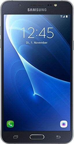 Samsung Galaxy J7 (2016) Smartphone (13,95 cm (5,5 Zoll) HD Super AMOLED-Display, 16 GB, Android 6.0 Marshmallow) schwarz