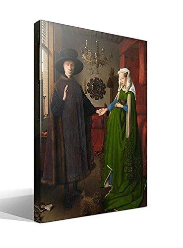 Cuadro Canvas El Matrimonio Arnolfini de Jan Van Eyck - 40cm x 55cm