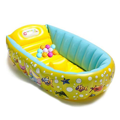 WangXN Opblaasbare babybad antislip zwembad opvouwbare reis-lucht-douchebak