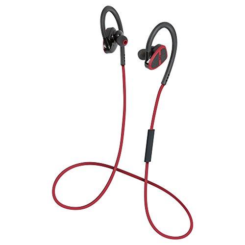 AEG KH 4232BT Stereo-Bluetooth In-Ear-Kopfhörer, Headset-Funktion, 3 individuelle Ohreinsätze, Spritzwassergeschützt IPX4