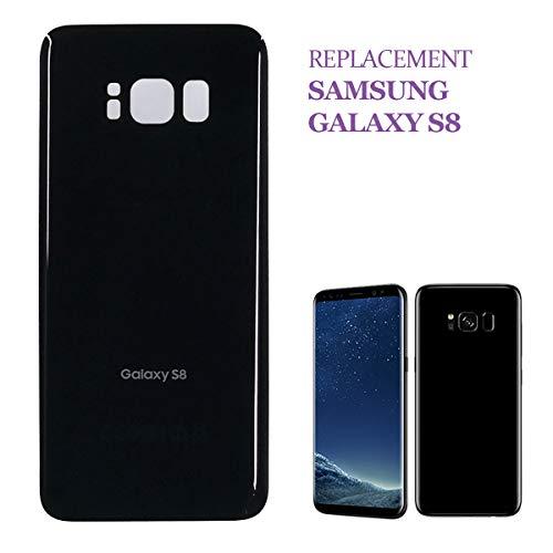 swark - Copribatteria compatibile con Samsung Galaxy S8, tutti i modelli G950, colore: Nero