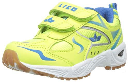 Lico Jungen Bob V Multisport Indoor Schuhe, Mehrfarbig (Lemon/Blau Lemon), 29 EU