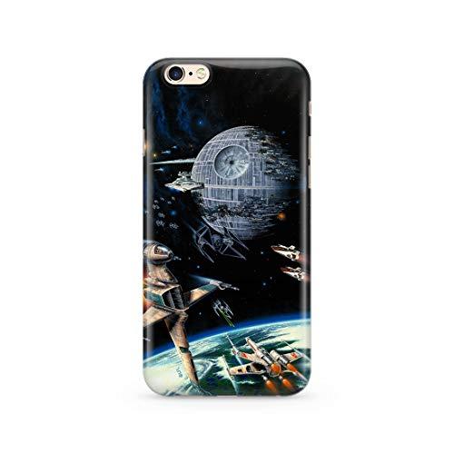 Original & Offiziell Lizenziertes Star Wars Handyhülle für iPhone 6, iPhone 6S, Hülle, Hülle, Cover aus Kunststoff TPU-Silikon, schützt vor Stößen & Kratzern