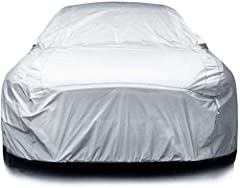 100% WATERPROOF & WEATHERPROOF: Works for all four seasons! Eipon's car cover is made of high-quality material, it will keep your car safe perfectly from wind, rain, snow, dust, sand, debris, paint, odors, and other damages. No more worries about get...